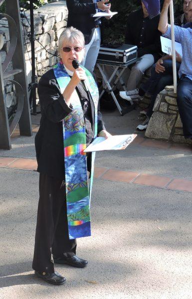 Rev. Caroline Hall of St. Benedict's Episcopal Church in Los Osos.