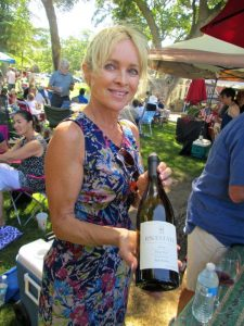 Paso Pinot and Paella Claire Westaway