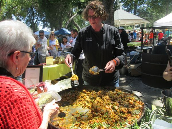 Paso Robles Pinot and Paella Maegen Loring