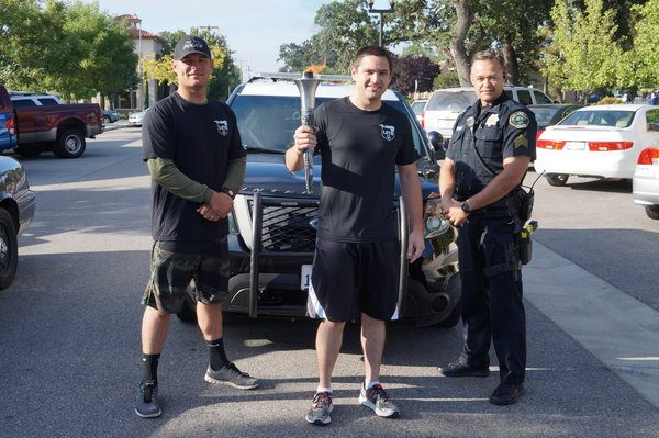 Paso Robles Police Department Special Olympics Torch
