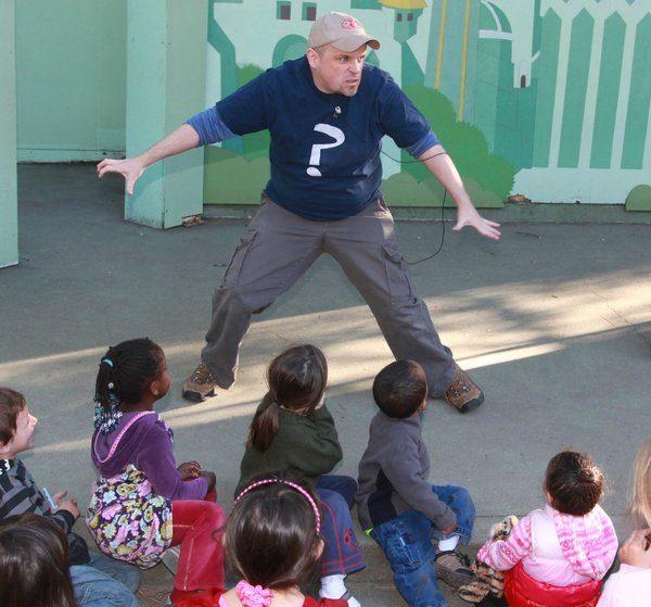 Storyteller John Weaver