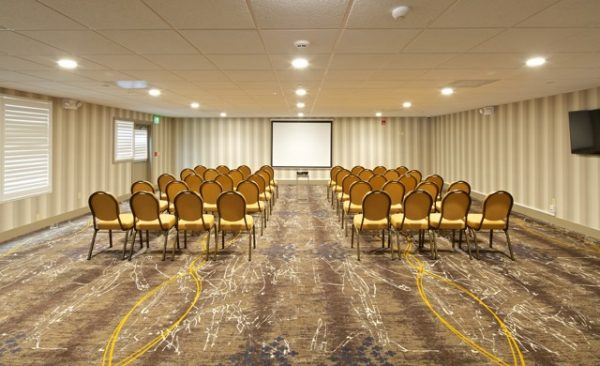 The property now boasts two different meeting spaces.
