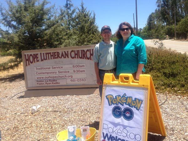 Pastors Liz and Ryan Radtke of Hope Lutheran Church in Atascadero .