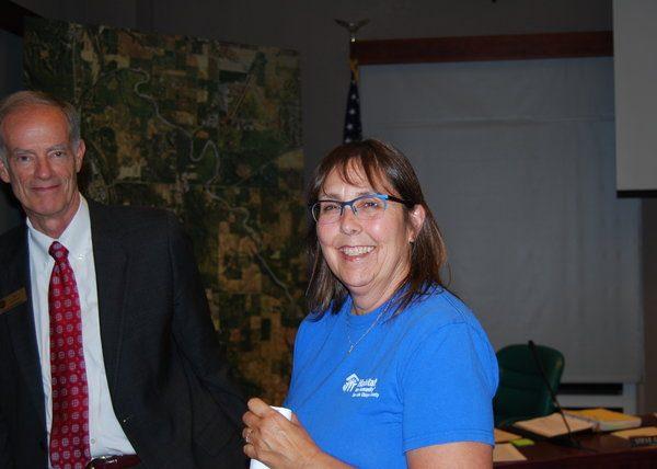 Julia Ogden and Tom Frutchey