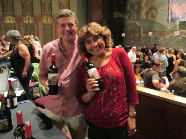 Jim and Azmina Madsen of The Farm Winery poured 2010 reserve cabernet sauvignon and syrah blend among other vintages.