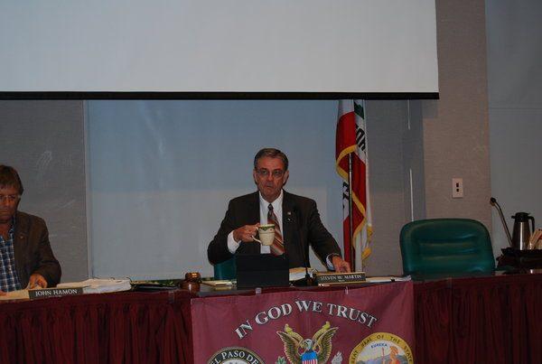 Mayor Steve Martin