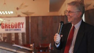 Steve Gregory announced his campaign for a second term on the Paso Robles City Council.