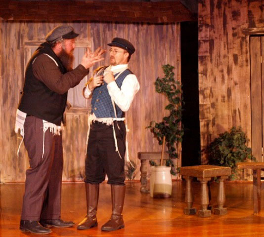 Wine Country Theatre, Fiddler on the Roof, Paso Robles, Park Ballroom