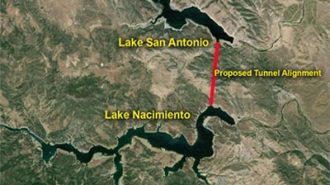 pipeline from Nacimiento to San Antonio