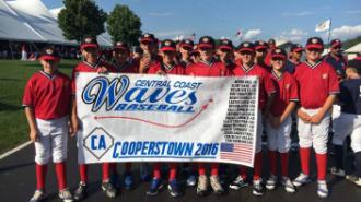 PRJUSD boys baseball cooperstown