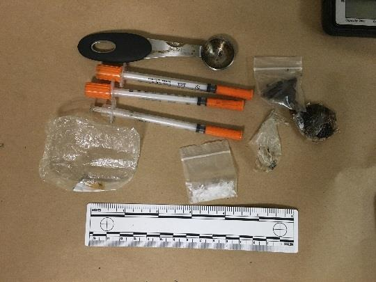 Controlled substances found in Armas' possession.