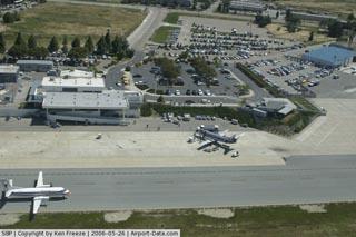 The San Luis Obispo Airport.