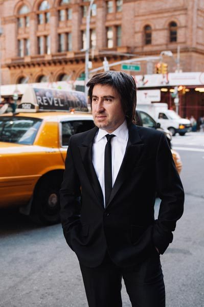 Pianist Tadeusz Domanowski.