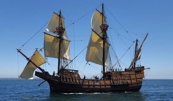 Spanish Galleon Anchors In Morro Bay Paso Robles Daily News