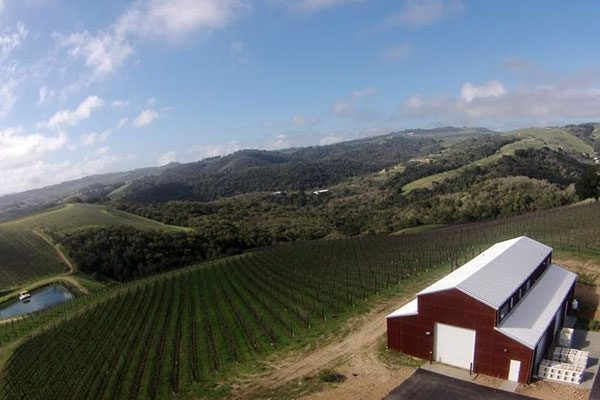 view from Alta Colina Winery