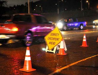 DUI checkpoint planned Monday night