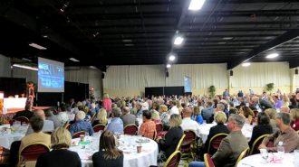 The Central Coast Economic Forum convening at the Alex Madonna Expo Center, Nov. 4.
