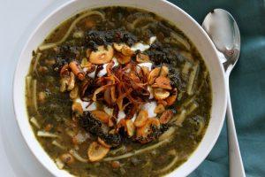 Ash-Reshteh stew.