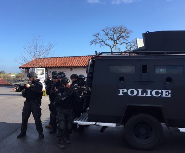SWAT at vina robles