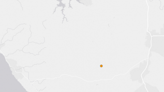Earthquake templeton
