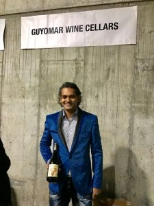 Ishka Stanislaus, proprietor of Guyomar Wine Cellars