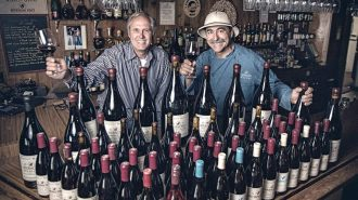 Gray Hartley and Frank Ostini, co-owners of the Hitching Post will present a retrospective dinner paired with their wines.