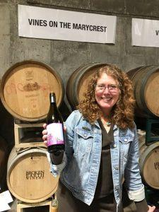 Jennifer Abascal, co-proprietor of Vines on the Marycrest