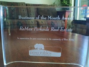 business of the month