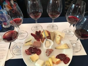 Cheese and charcuterie from Fromagerie Sophie at the Pinot and Paté panel