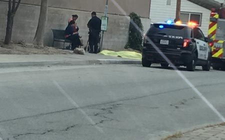 man dies at bus stop paso robles