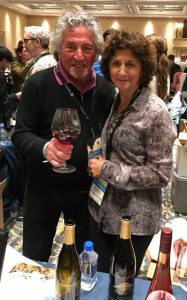 Marc Goldberg and Maggie D'Ambrosia of Windward Vineyards and Winery