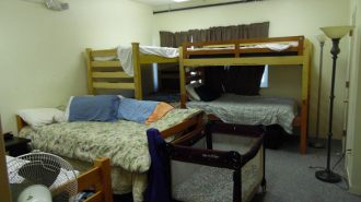 UP to 60-percent of the beds at ECHO are occupied by families.