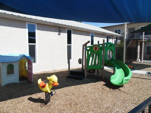 Playground donated by Atascadero Kiwanis.
