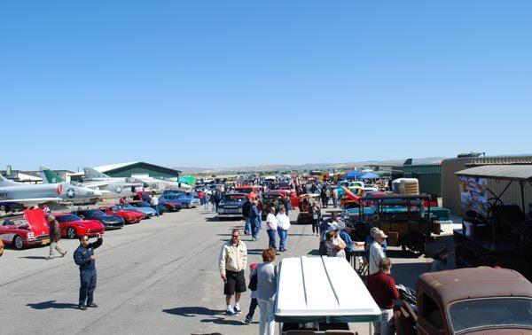 Paso Robles Warbirds Car Show