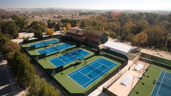 Templeton Tennis Ranch - aerial