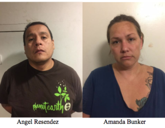 Two arrested for drug possession with intent to sell, child endangerment