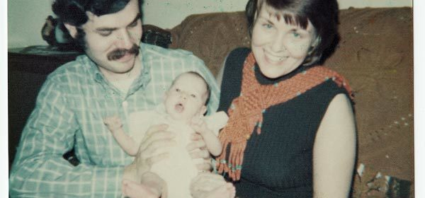 Josh Tobin with his first wife Lois Hurt and daughter Beth in 1975.