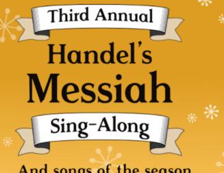 Third annual Handel's Messiah sing-along