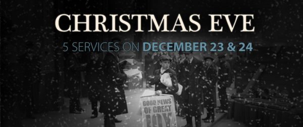 on saturday december 23 the first of five christmas eve services will start at highlands church at 400 pm with a coal fired steam train at 315 pm and - Church Of The Highlands Christmas