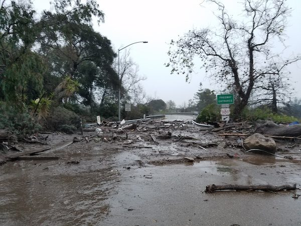 Evacuation orders lifted for some parts of Santa Barbara County