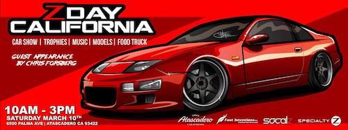 ZDay California Car Show Returns To Atascadero On Mar Paso - Car show paso robles 2018