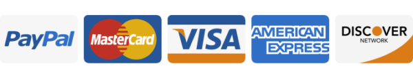 Visa, Mastercard, American Express, Discover, and Paypal are accepted - eflyer payment