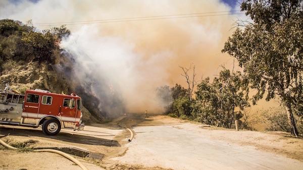 fire damage San Luis Obispo
