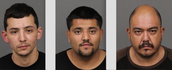 Ivan Sandoval Farias, Oscar Romero, and Manual Padilla Jr.