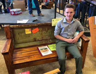 Students earn $100,000 at fair industrial arts auction