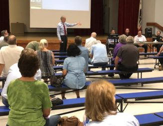 Residents attend forum on proposed 1-percent tax