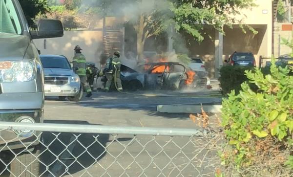 car fire paso robles