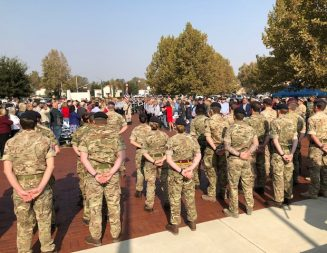 Hundreds attend Veterans Day Ceremony in North County