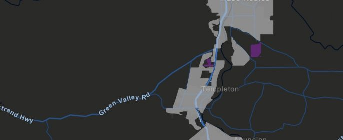 Map of lead pipes paso robles san luis obispo
