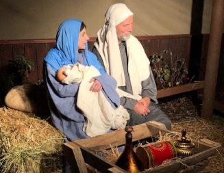 Templeton Presbyterian Church producing live nativity